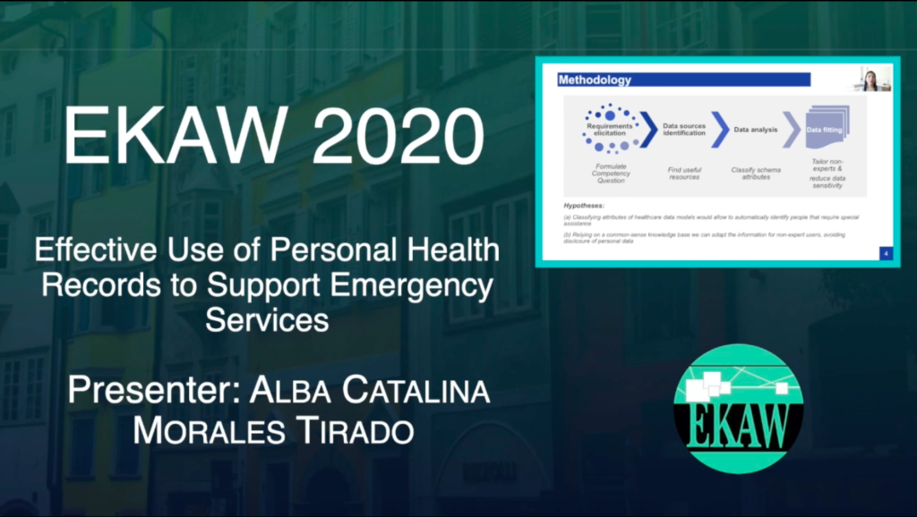 D1S1 – Effective Use of Personal Health Records to Support Emergency Services-Alba Catalina Morales Tirado