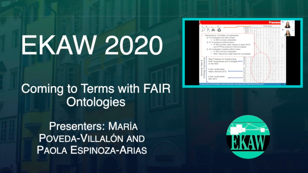 D2S6 – Coming to Terms with FAIR Ontologies – Maria Poveda-Villalon, Paola Espinoza-Arias