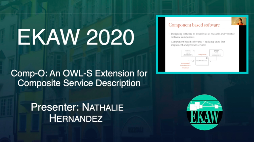 D1S2 – Comp-O: An OWL-S Extension for Composite Service Description- Natalie Hernandez