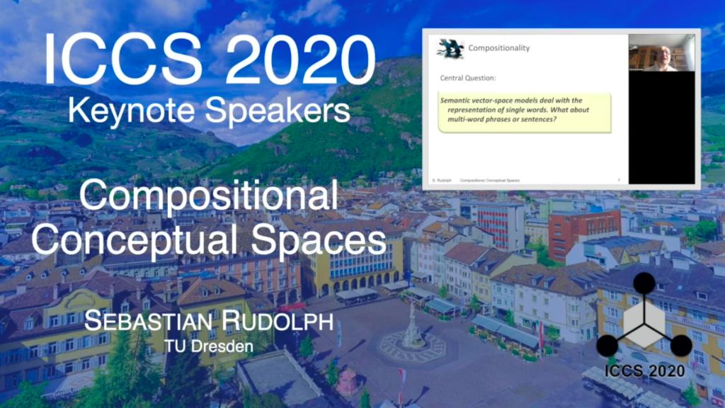 ICCS 2020 Keynotes – Compositional Conceptual Spaces – Sebastian Rudolph
