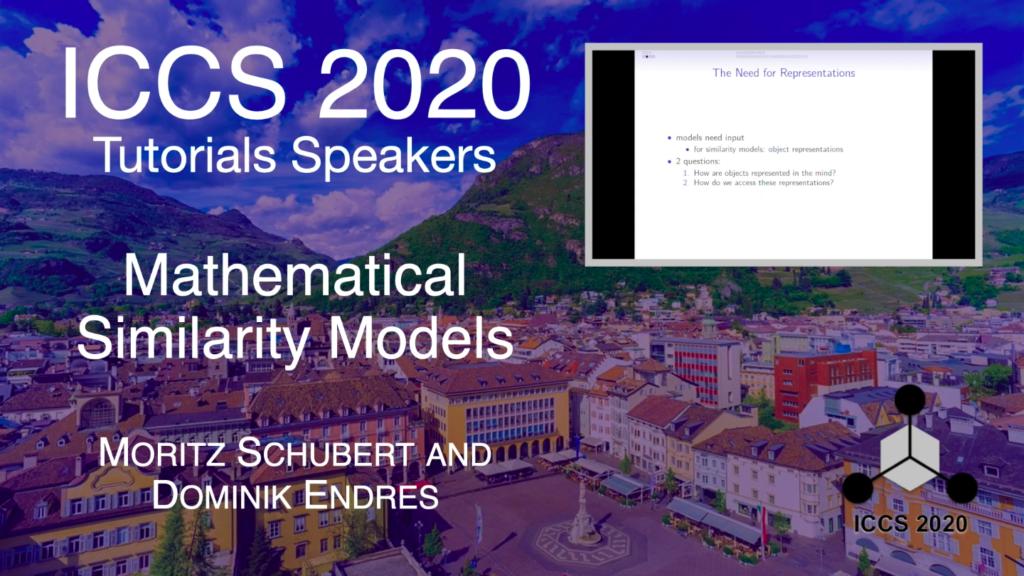 ICCS 2020 Tutorials – Mathematical Similarity Models – Moritz Schubert