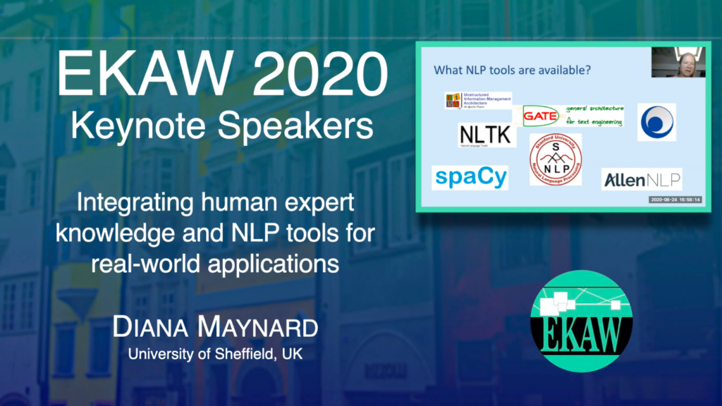 Integrating human expert knowledge and NLP tools for real-world applications – DIANA MAYNARD